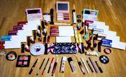 Kosmetik Schminke Make-Up Lippenstift Eyeliner