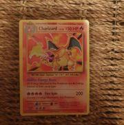 Charizard pokemon karte