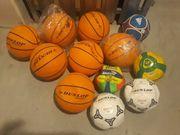 Basketball Fußbälle Konvolut