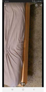 Bett 120 x 200 Buchenholz