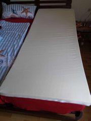 Matratzenauflage 200x80x4 cm - einwandfreier Zustand
