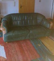 3 Sitzer Sofa mit Sessel