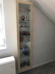 Ikea Hänge-Glasvitrine Farbe Birke mit