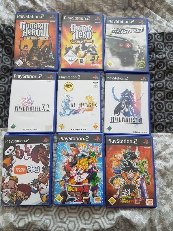 Verschiedene PS2 und PS3 Spiele