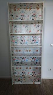 BILLY Bücherregal Muster 80x28x202 cm