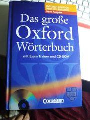 Oxford Wörterbuch Englisch-Deutsch