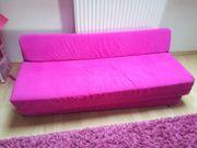 Couch Sofa pink Schaumstoff faltbar