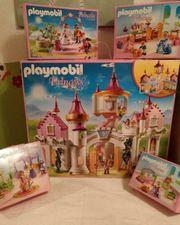 Playmobil Prinzessinnen Schloss mit Zubehör