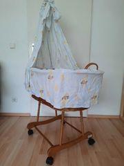 Stubenwagen Babybett von Leipold Korb