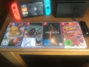 Verkaufe neuwertige Nintendo Switch Konsole