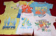 6 Kurzarm-Shirts Gr 86