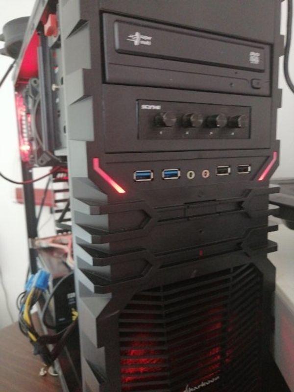 PC Intel I7 4790k 4x 4 GHz, 16 GB RAM