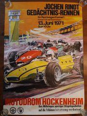 Jochen Rindt Original Plakat Formel