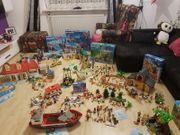 Playmobil Konvolut XXL - Häuser - Fahrzeuge -