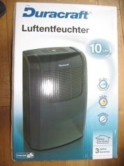 Duracraft Luftentfeuchter - bis 10L pro