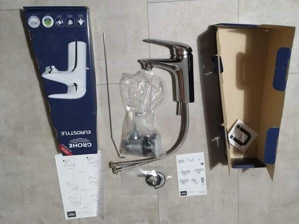 2x Grohe Eurostyle Waschtischarmatur 23707003 Chrom S Size