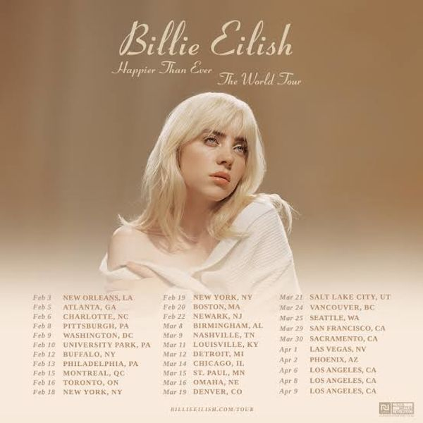 1 Ticket für Billie Eilish