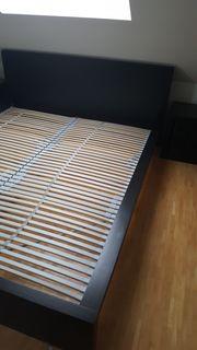 Ikea Bett MALM schwarzbraun