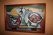 Ölbild auf Leinwand signiert Emil