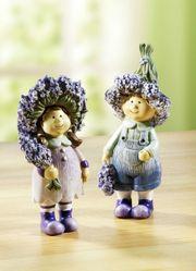 Dekofigur Blumenkinder 2er Set Kinder