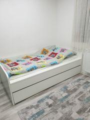 Duoliege Bett von Wellemöbel