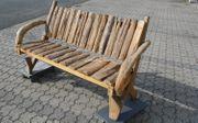 Bank Gartenbank Gartenmöbel Holz Teak