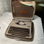 Vintage TIPPA Gossen Schreibmaschine 50er