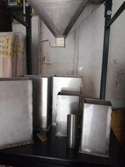 Abfüllmaschine u Bohnentrennungsmaschine z B