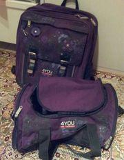 Schulrucksack Schulranzen mit Sporttasche