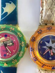 2 alte Swatch Uhren