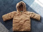 Winterjacke hellbraun von Topolino - Größe