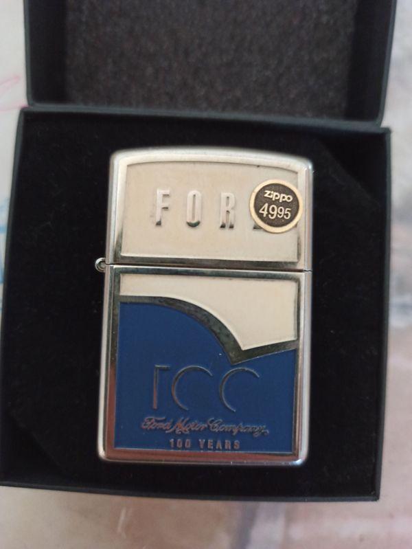 Zippo Feuerzeug - 100 Years Anniversary Ford