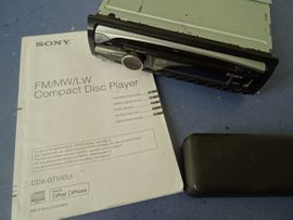 Radio, Tuner - Inkl Versand Sony Autoradio Sony