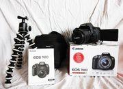 Canon EOS 700D Joby-Stativ