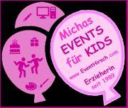 Kinderschminken Airbrushtattoos Glitzertattoos Hüpfburg Kinderevents