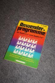 Buch Anwenderprogramme Apple IIc Apple