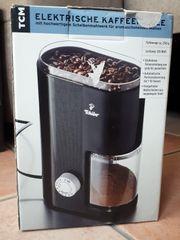 Elektrische neue unbenutze Kaffeemühle