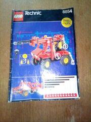 Lego Technic 8854 bauanleitung