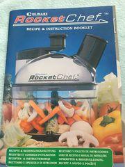 RocketChef manuelle Küchenmaschine - wenig gebraucht