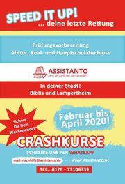 Nachhilfe Crashkurs Haupt-und Realschulabschluss Abitur