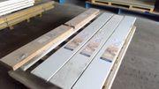 Abverkauf Wand- und Deckenpaneele weiß