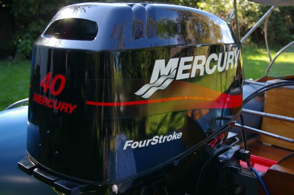 Mercury 40 PS VIERTAKT AUSSENBORDMOTOR