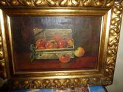 altes Öl-Gemälde signiert