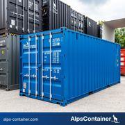 20ft 6m Seecontainer Lagercontainer in