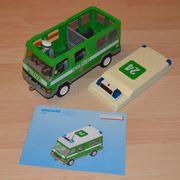 Playmobil Polizei-Mannschaftswagen mit Blinklicht 3160