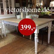 Esstisch Küchentisch Massivholz weiss diningtable