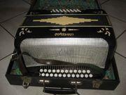 Ziehharmonika Knopfakkordeon Akkordeon Musikinstrument