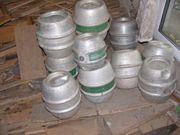 9 Bier- Alufässer aus Lagerhaltung