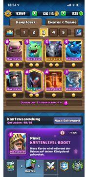 Clash Royale lvl 13 Account
