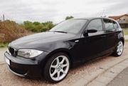 BMW 116i schwarz Start-Stop-Automatik in